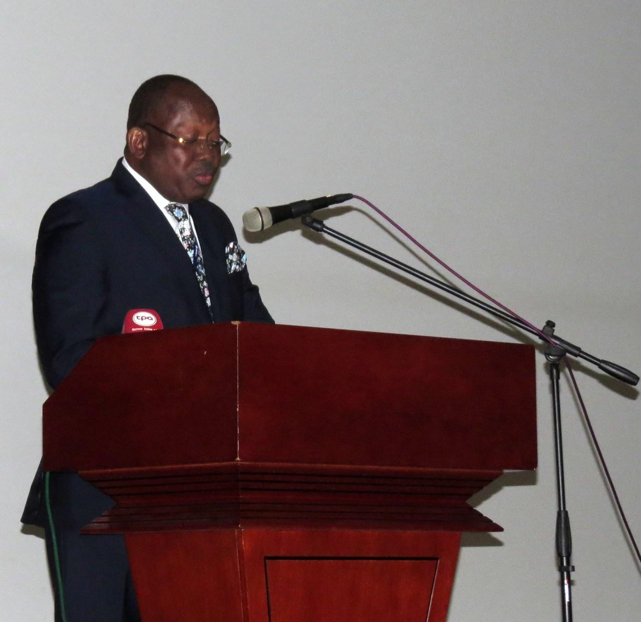 Discurso do Dr. Guilherme Luís Mavila, durante a XII Conferência Anual da RELOP